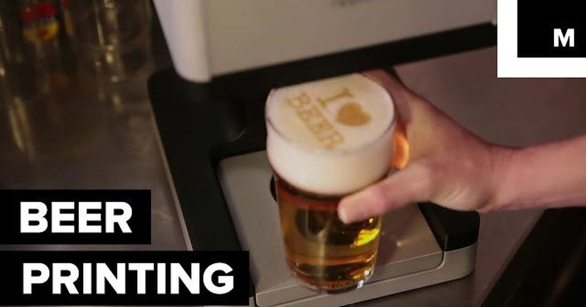 This Machine Lets Your Beer Do All The Talking photo