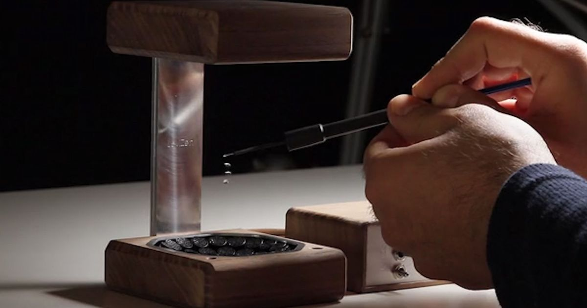Gravity-defying Machine Looks Like Magic — But There's A Scientific Answer photo