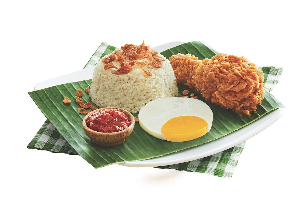 The Skinny On Mcdonald's Indonesia 'nasi Uduk' Set, photo
