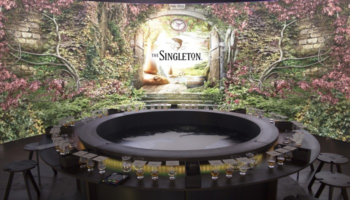 Giant Whisky-tasting Cask Offers 360-degree Video, Scents And Sounds photo