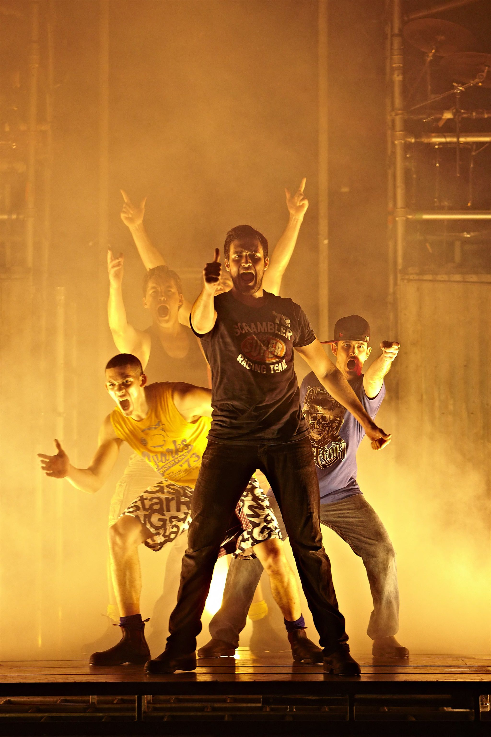 Dein Perry's Tap Dogs Brings High-energy Dance To South Africa photo