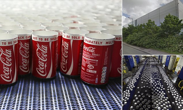Coca-cola Factory Worker Sacked For Urinating In A Can photo
