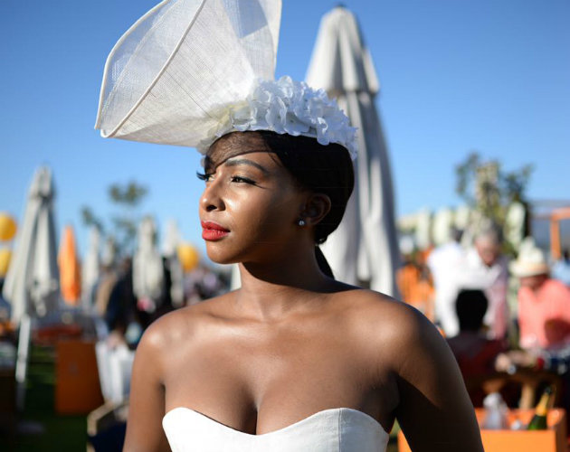 All The Most Luxurious, Lavish Looks Served At The Veuve Clicquot Masters Polo 2018 photo