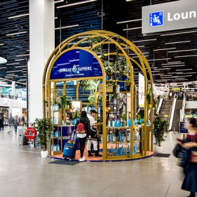 Bombay Sapphire Launches Glasshouse Activation In Gtr photo