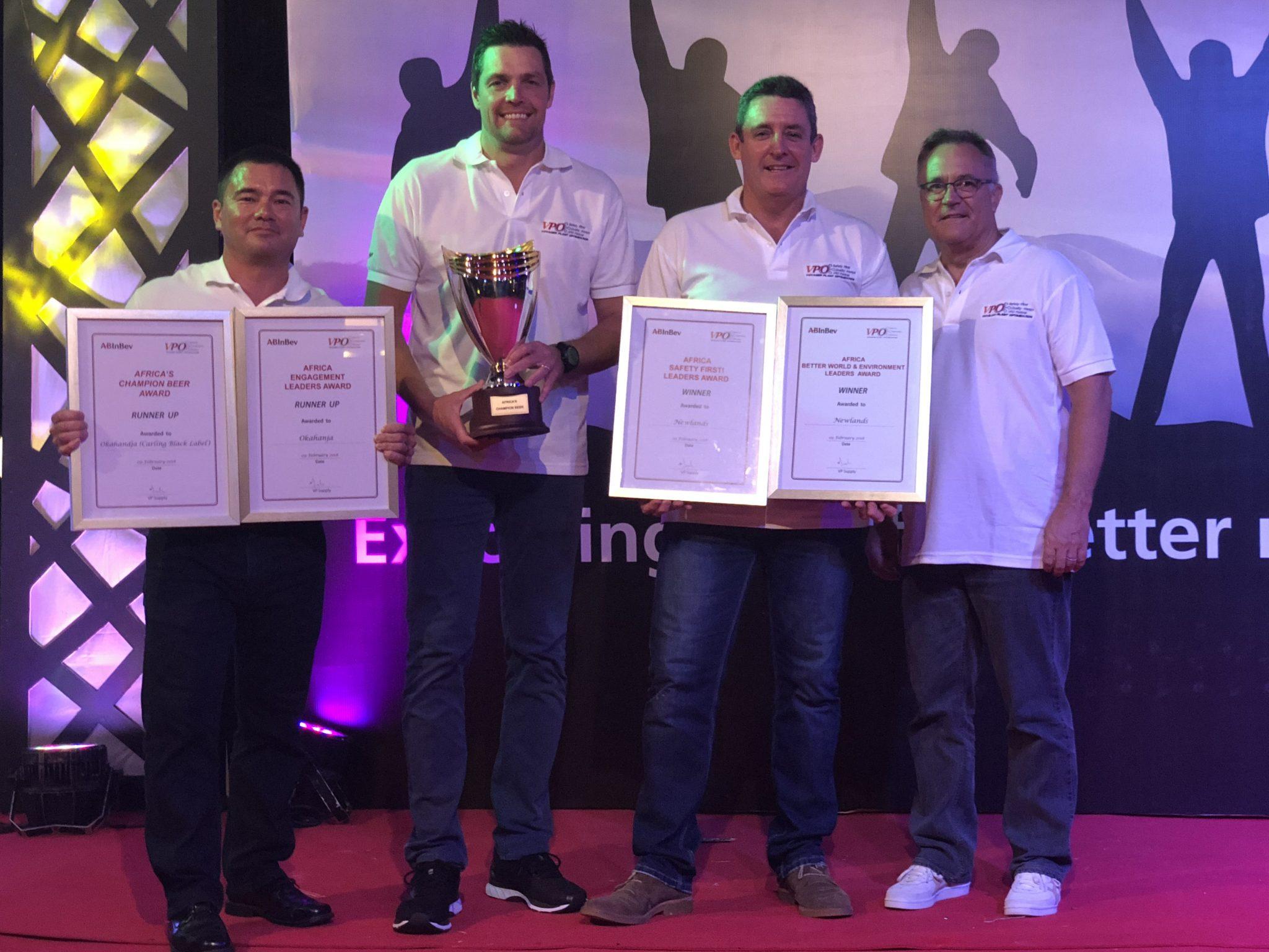 Ab Inbev Wins Prestigious Brewery Awards photo