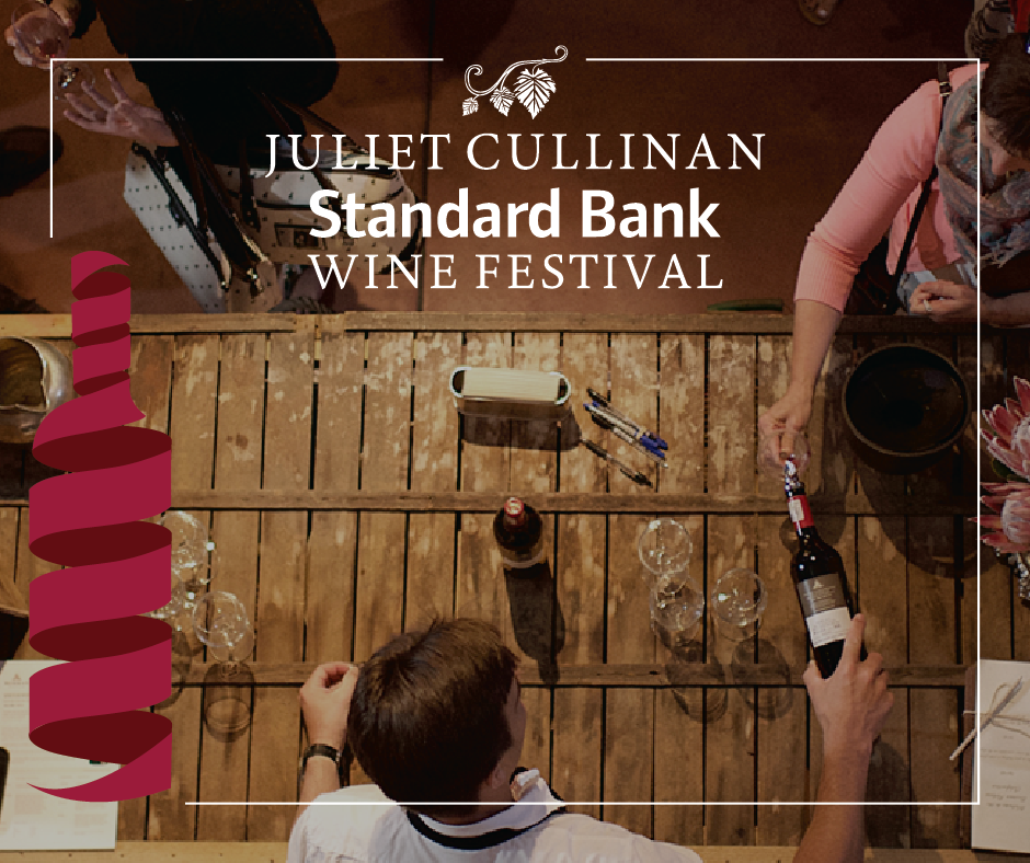 Book your tickets for the 28th Juliet Cullinan Standard Bank Wine Festival photo