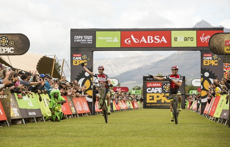 Jessop Tells How He Defied Odds To Help Win African Jersey At Cape Epic photo