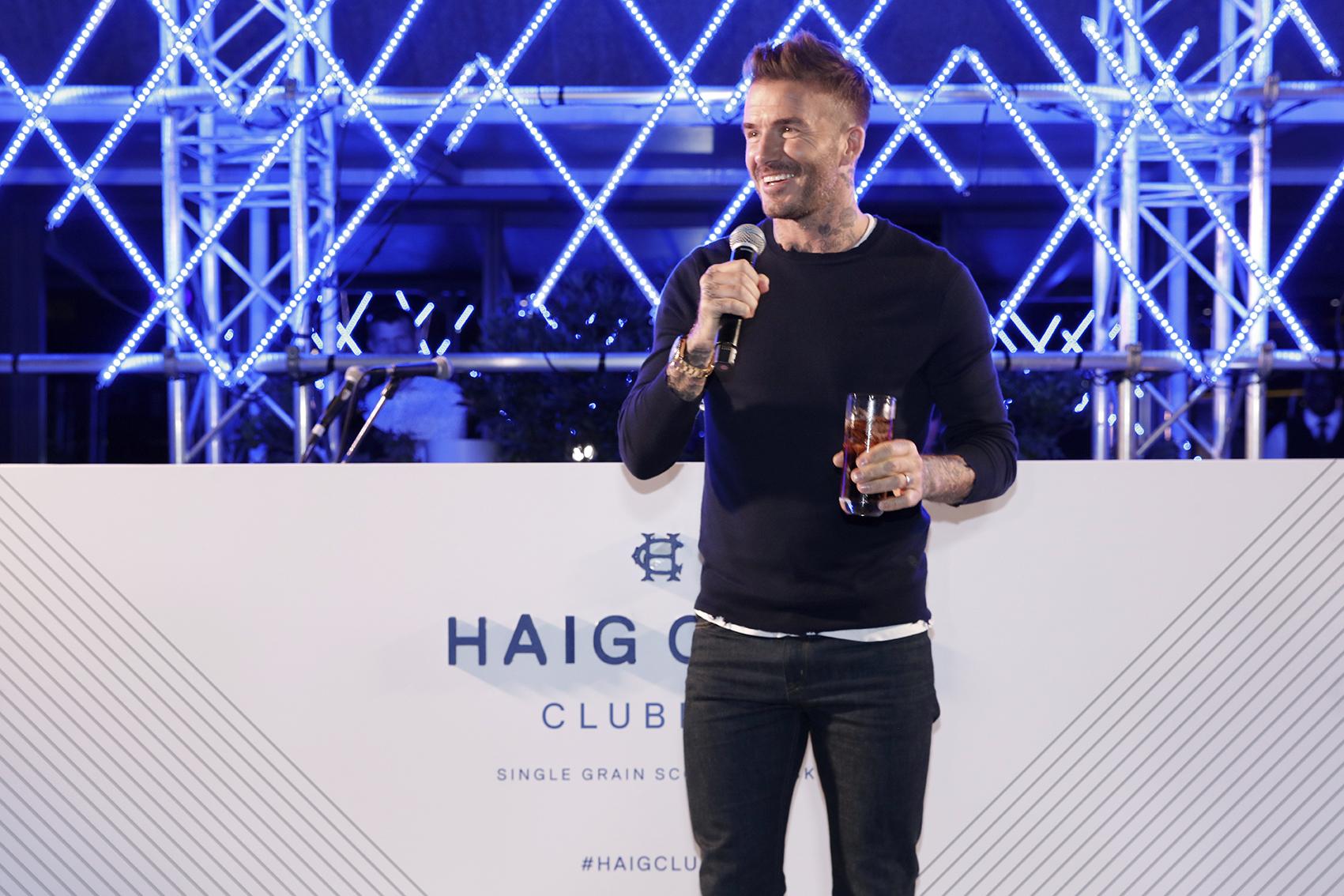 David Beckham Launches Haig Club Whisky In Sa photo