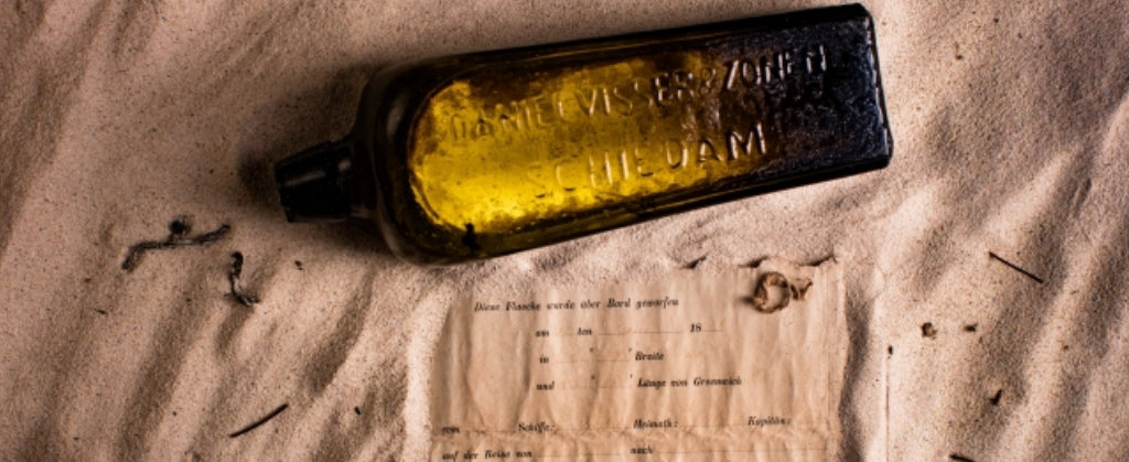World's Oldest Message in a Bottle Discovered in a Gin Bottle photo