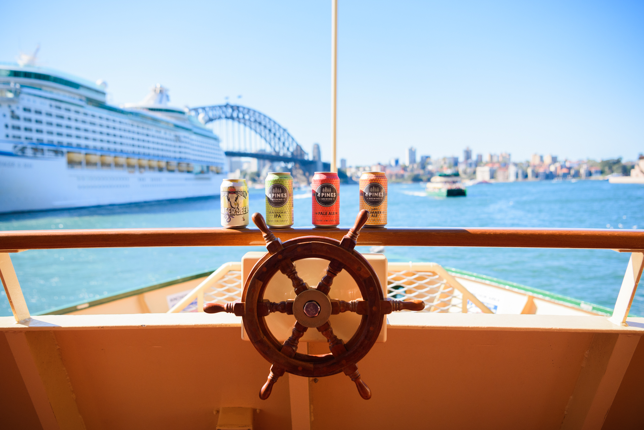4 Pines Now Serving Beer On Manly Ferries photo