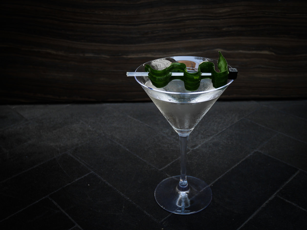 Would You Drink A $35 Caviar Martini? L.a. Steakhouse Debuts One For A Good Cause photo