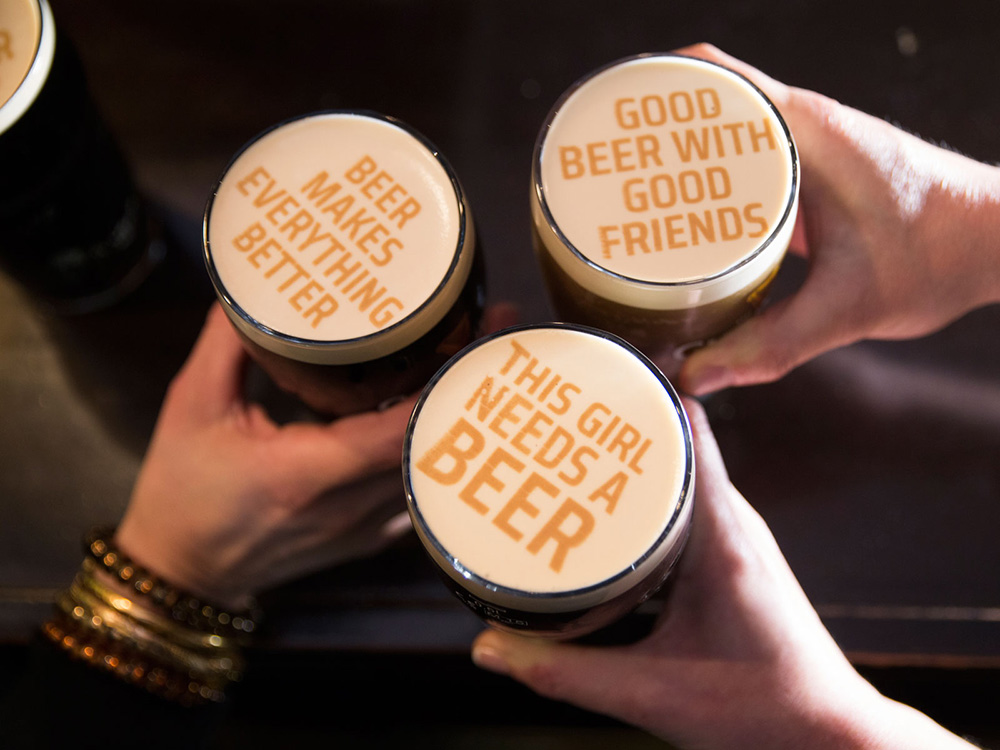 Just When You Thought A Pint Couldn't Get Any Better, Beer Foam Art Is Here photo