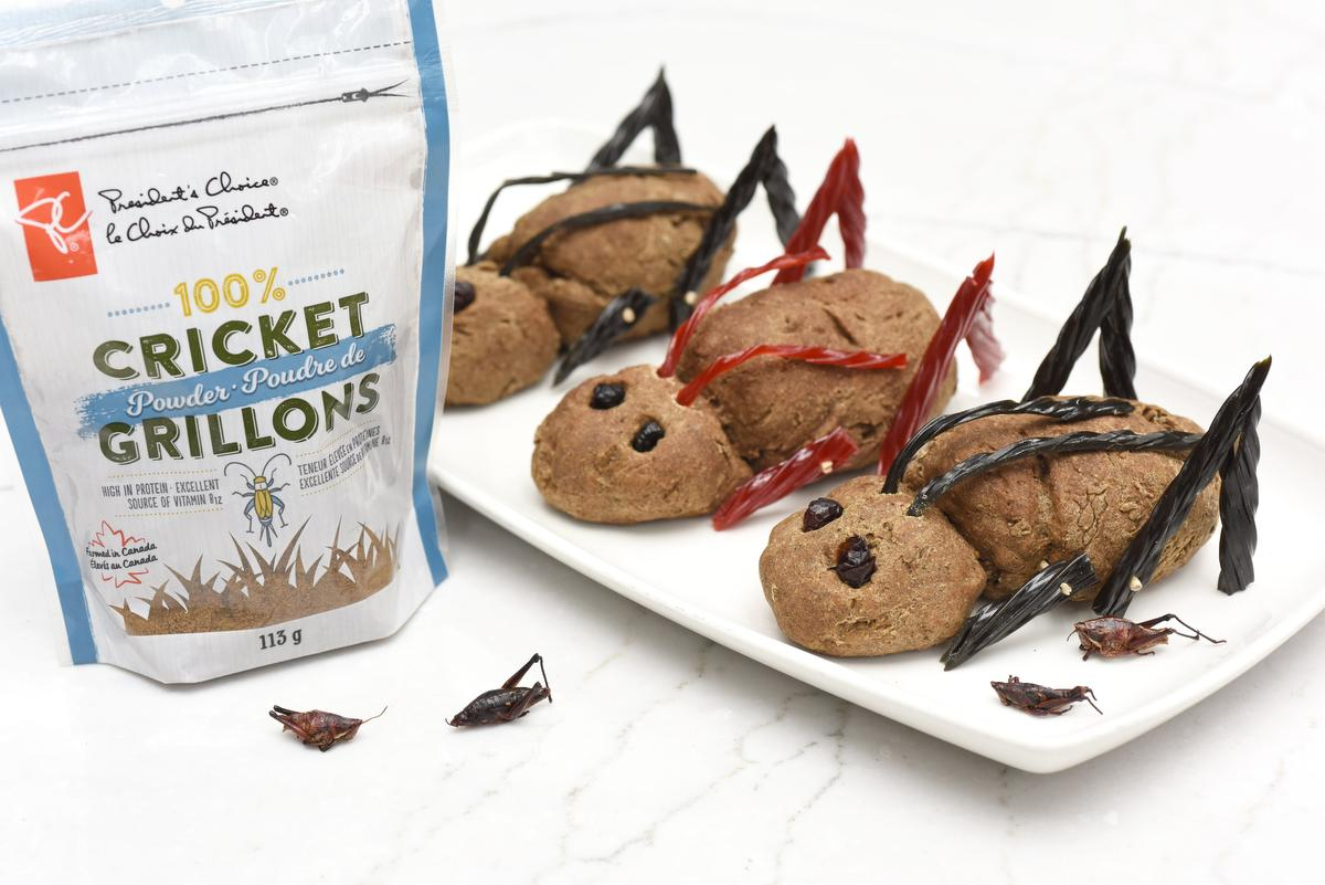 Baking Bread With Ground Crickets photo