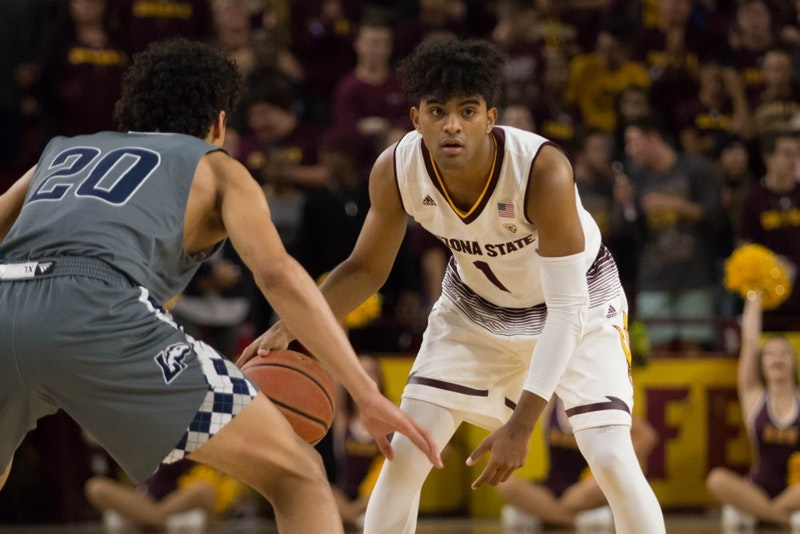 For Asu Men's Basketball, A Prized Freshman's Speed Doesn't Kill, It Scores photo