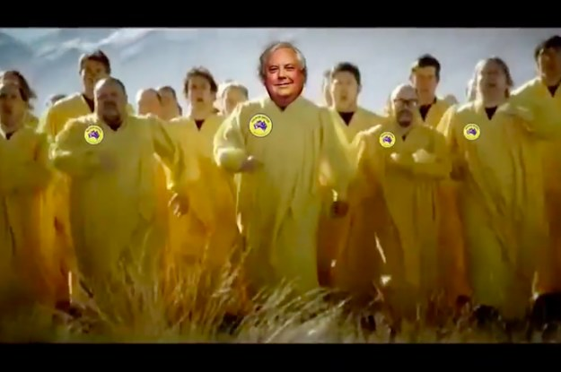 """Clive Palmer Has Been Asked To Remove A Parody Of Carlton Draught's """"big Ad"""" From His Facebook photo"""
