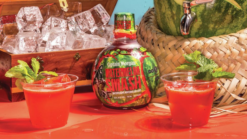 captain Morgan Launches New 'watermelon Smash' Drink Perfect For The Summer Sesh photo
