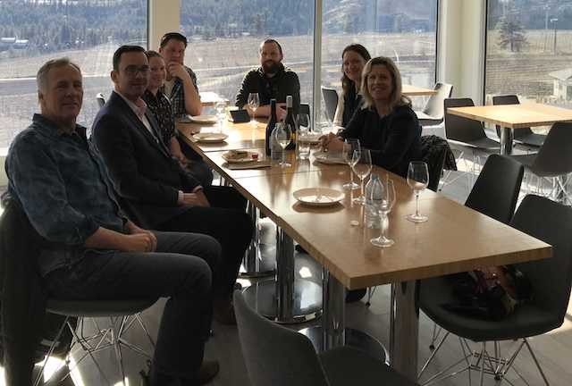 Alta. Mp Visits Wine Country photo
