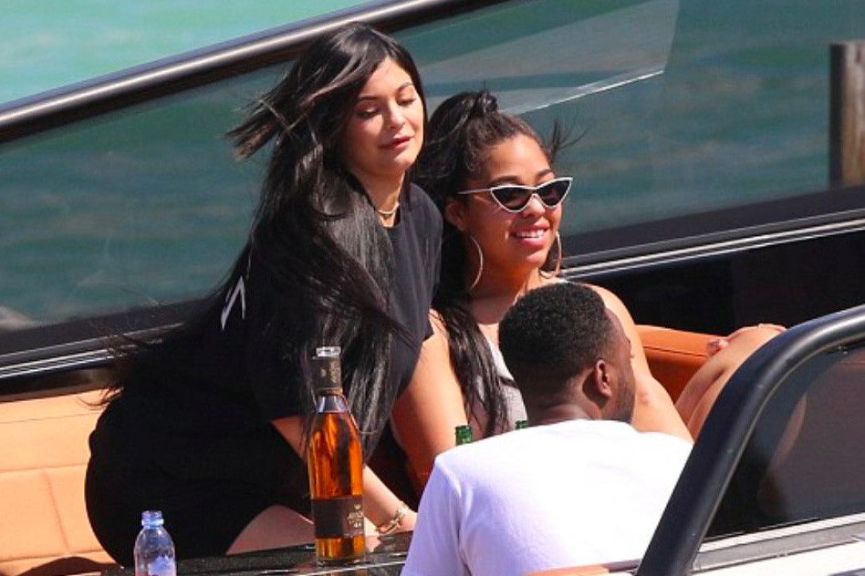 Kylie Jenner And Travis Scott Party In Miami photo