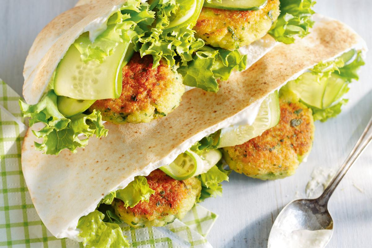 These Fish Croquette Pita Sandwiches Will Have You Hooked photo