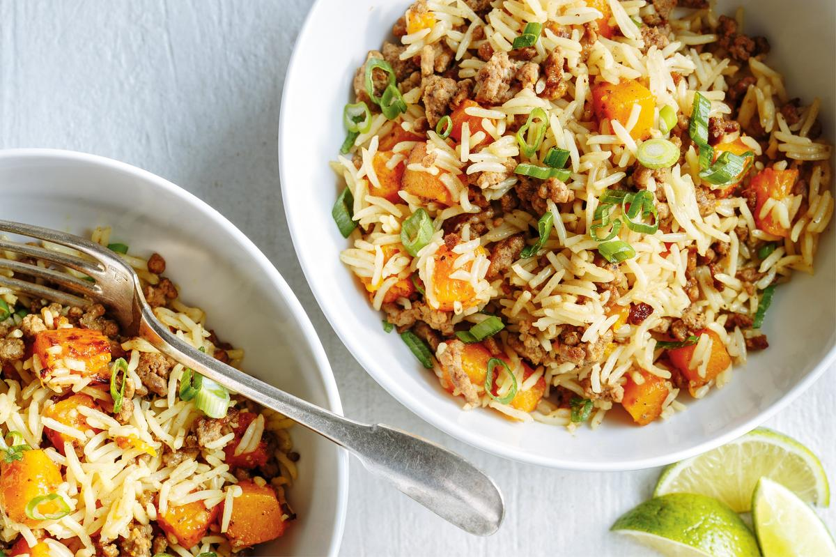 Got Beef? Try This Beef And Squash Fried Rice Recipe photo
