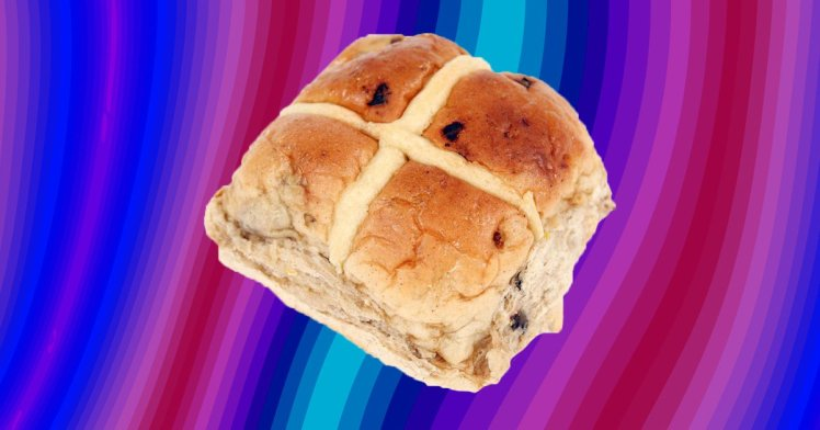 Pass Us A Knife And The Butter: Giant Hot Cross Buns Are A Thing photo