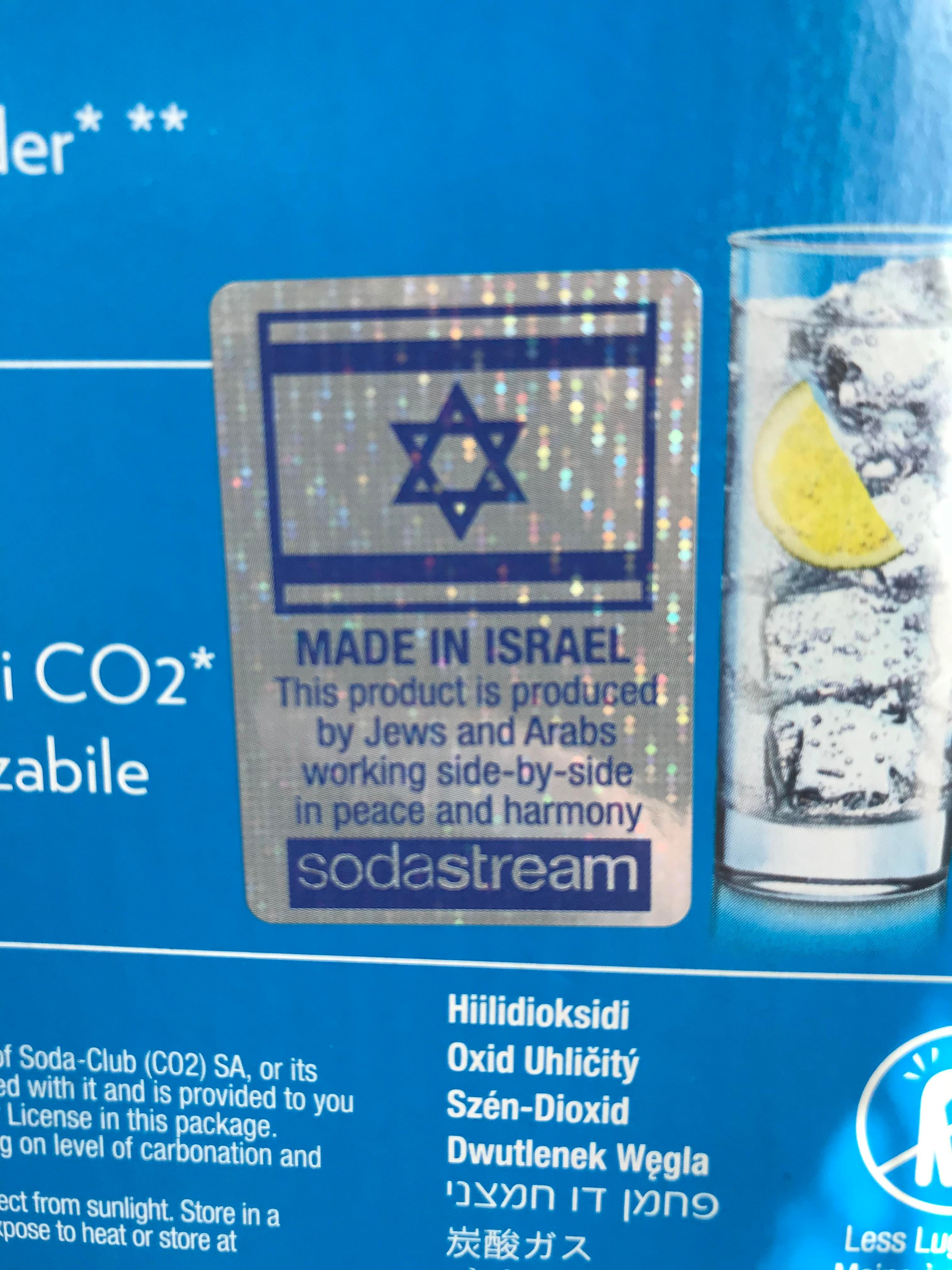 Sodastream Attempts A Re-brand, Focusing On Coexistence photo
