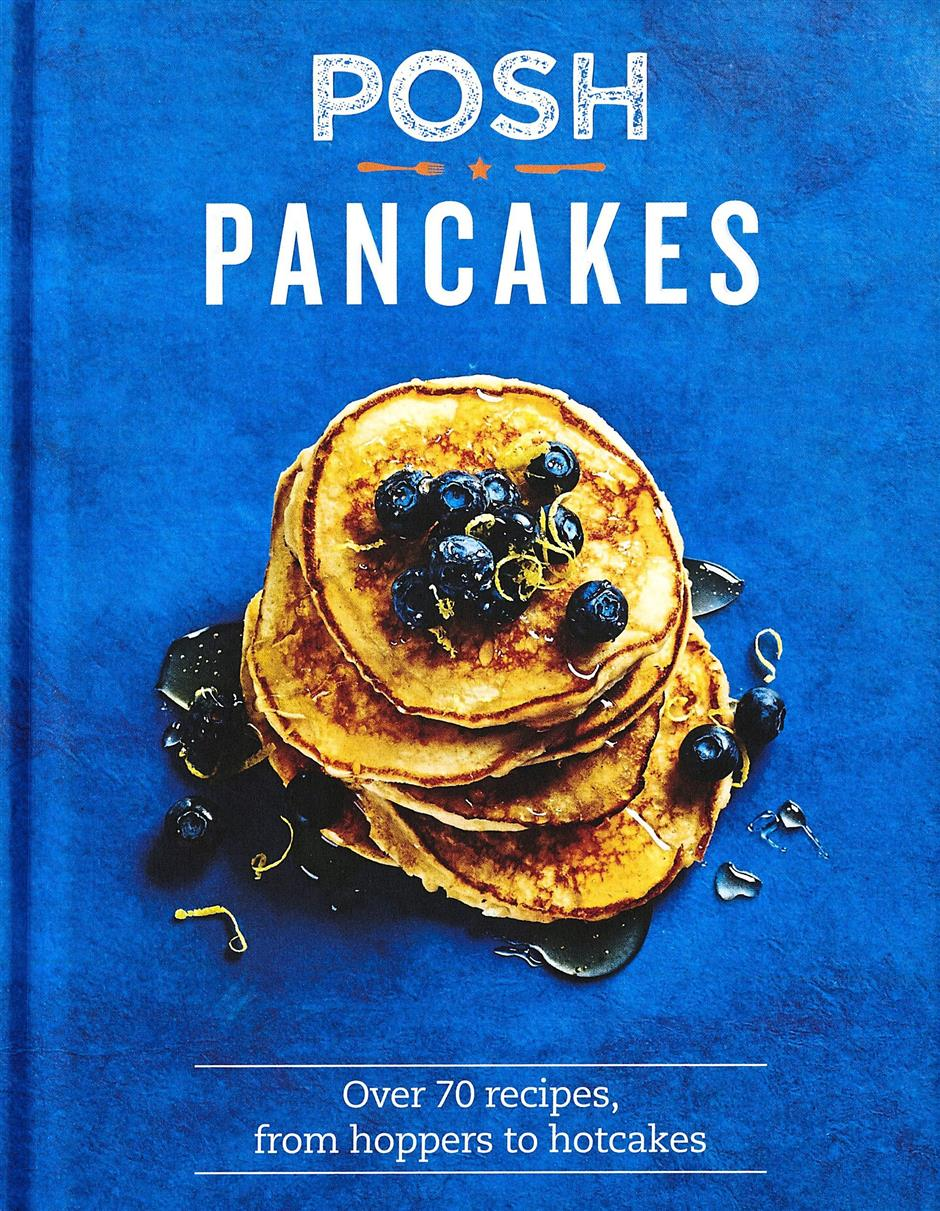 Cooking The Books: Champagne, Coffee And Posh Pancakes photo