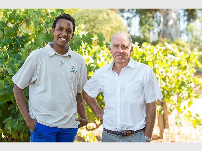 Winemaker Uncorks His Potential photo