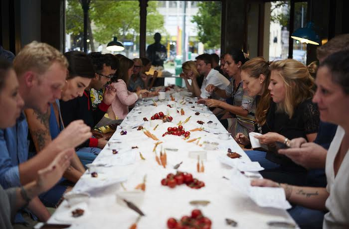 The Table Bay Hosts Waterless Dinner On The Jetty For Earth Hour photo