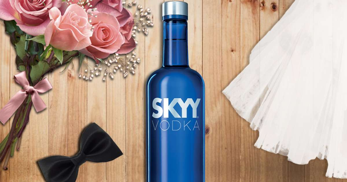 Get Cocktail Bliss On Your Wedding Day, Courtesy Skyy Vodka photo