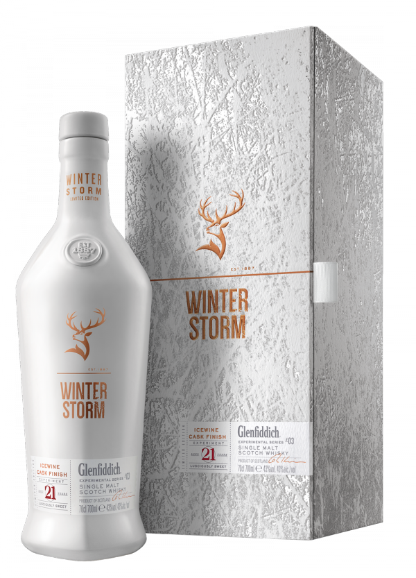 Glenfiddich Releases Limited 21-Year Old Single Malt Aged in Icewine Barrels photo