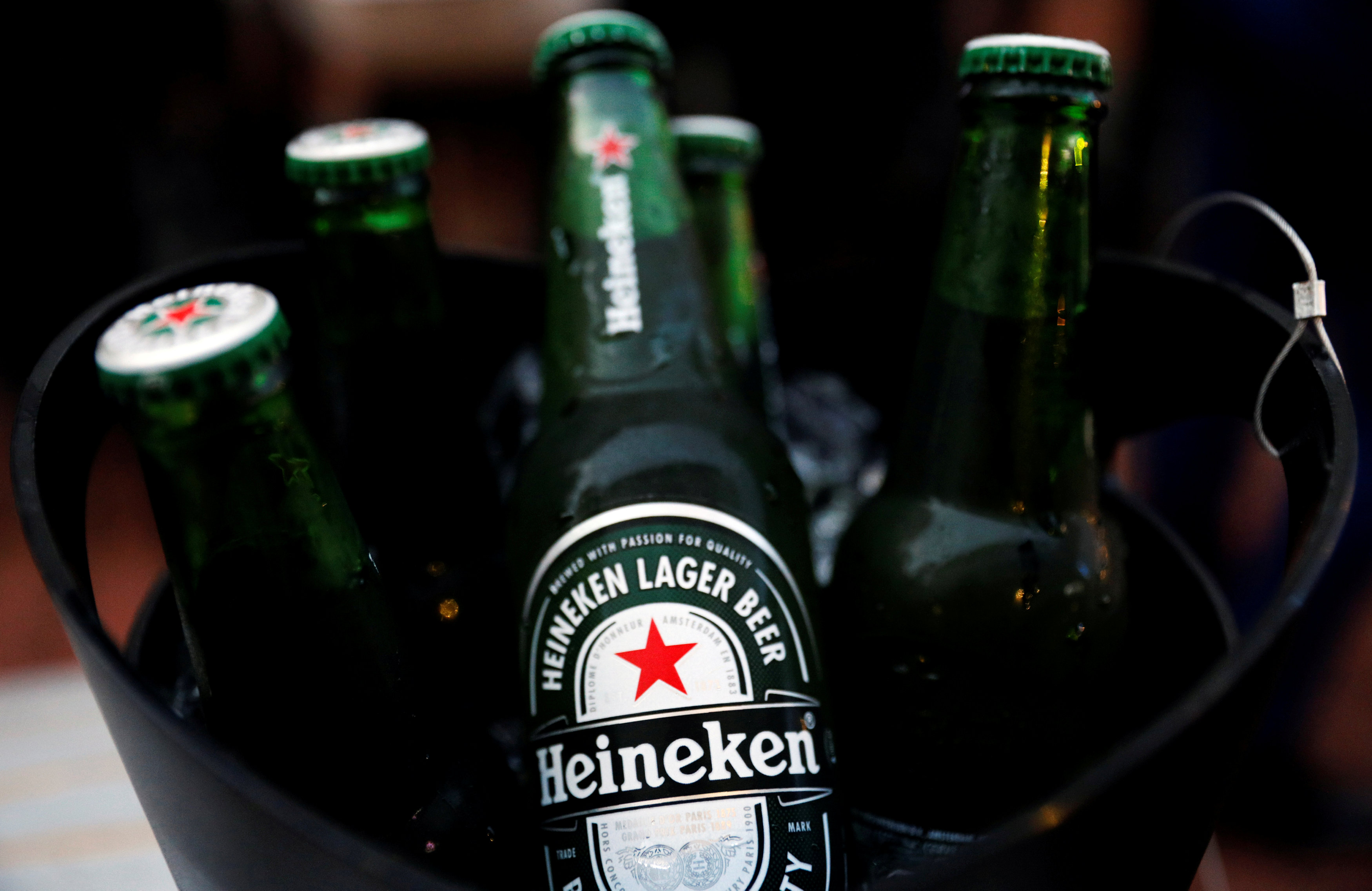 Asian Market Lifts Heineken photo