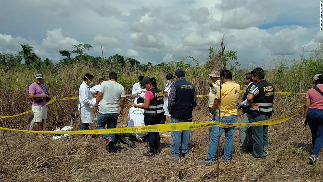 Two Suspects Held Over Lynching Of Canadian In Peru photo