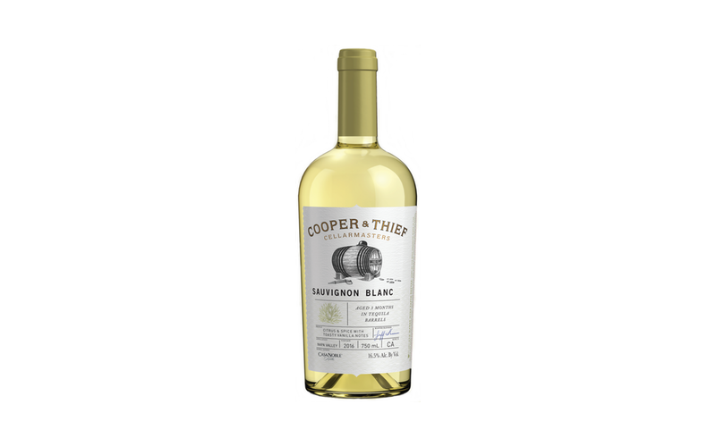 Winery Introduces Sauvignon Blanc aged In tequila barrels? photo