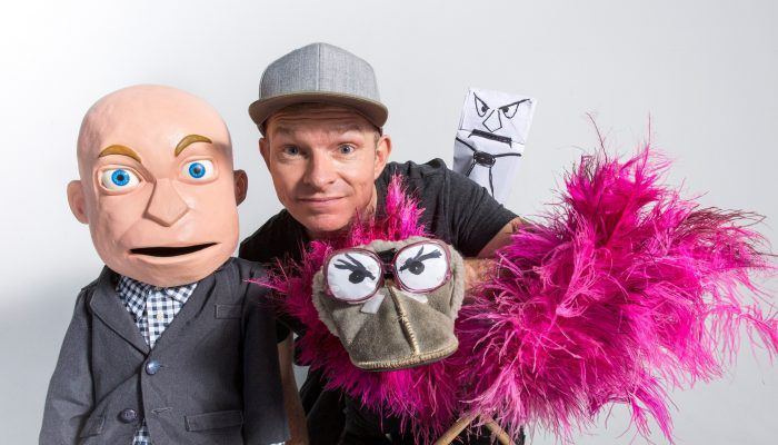 Q&a With Puppet Guy Conrad Koch photo