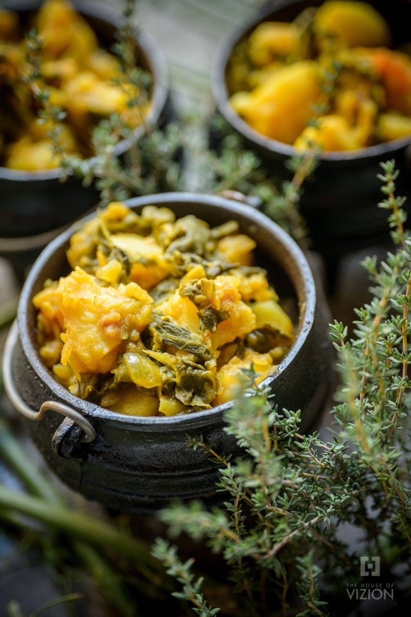 #greenmondaysa: Spinach And Potato Hotpot photo