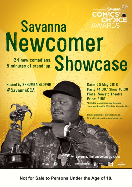 Skhumba Hlophe To Host Savanna Newcomer Showcase photo