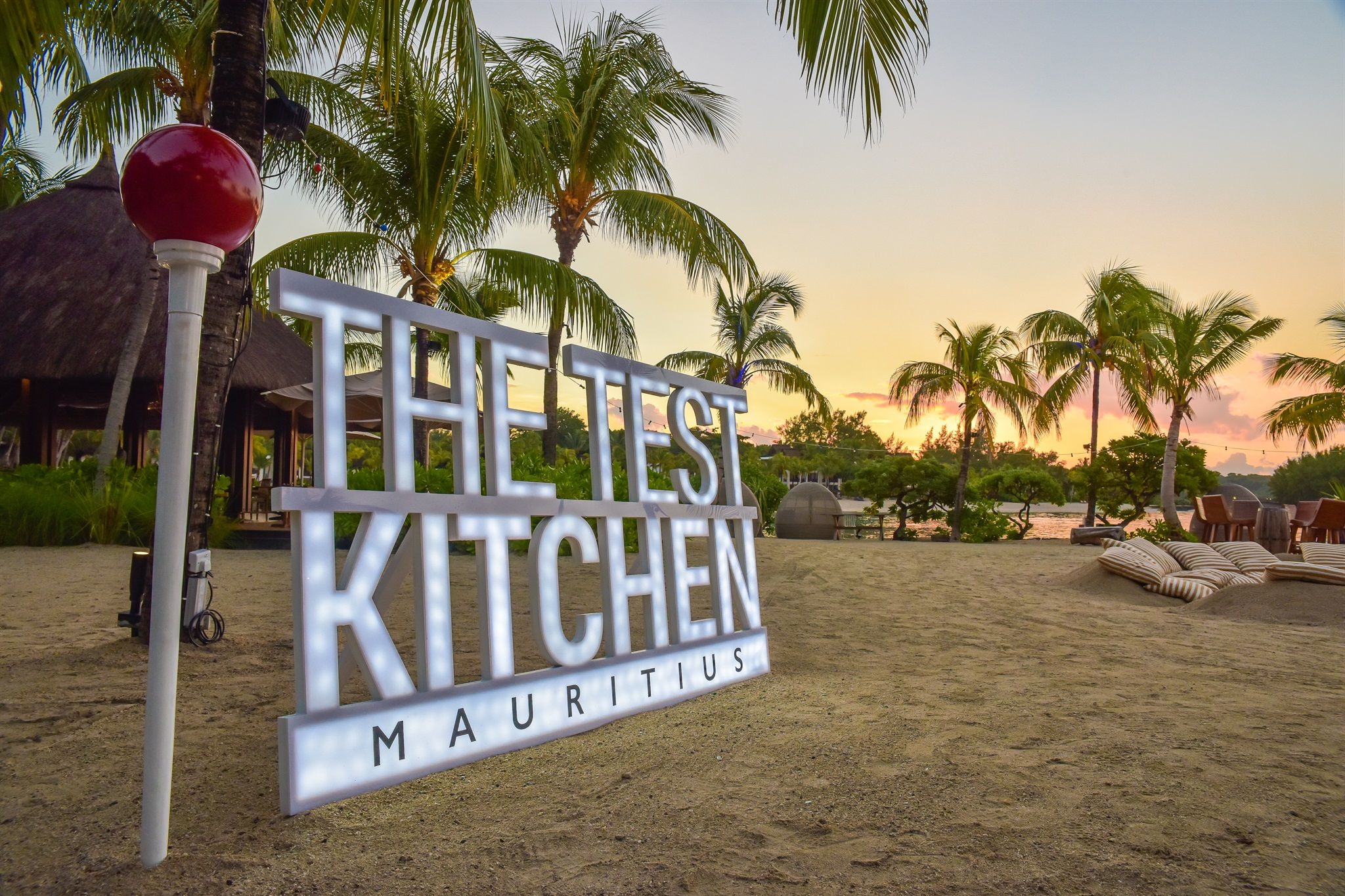 Chef Luke Dale-roberts' Launches The Test Kitchen Pop-up Restaurant In Mauritius photo