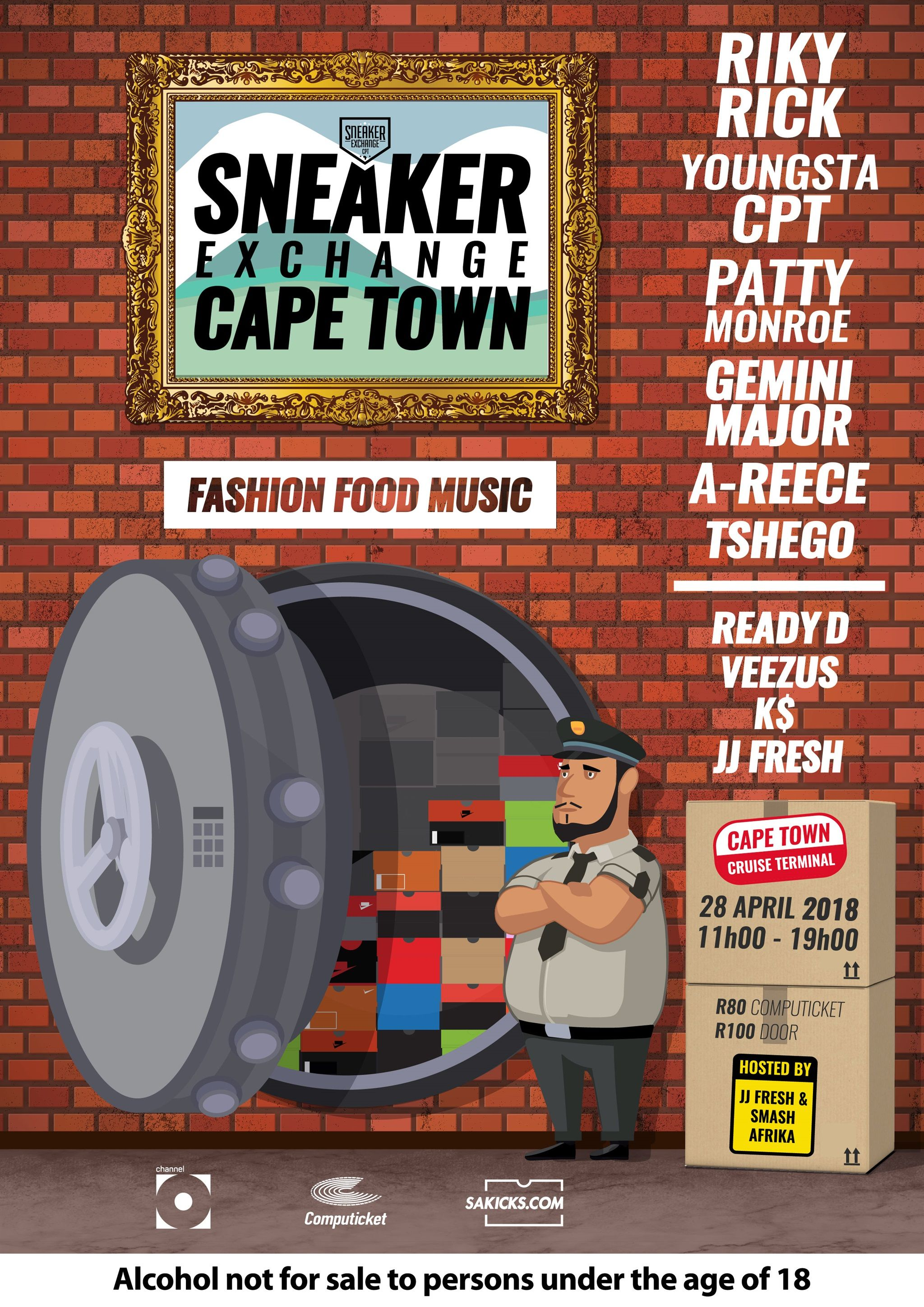 Sneaker Exchange (sxc) Returns To Cape Town photo