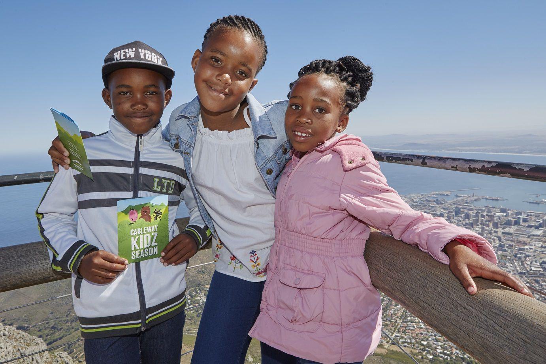 Kids Ride For Free During Table Mountain Cableway's Kidz Season photo