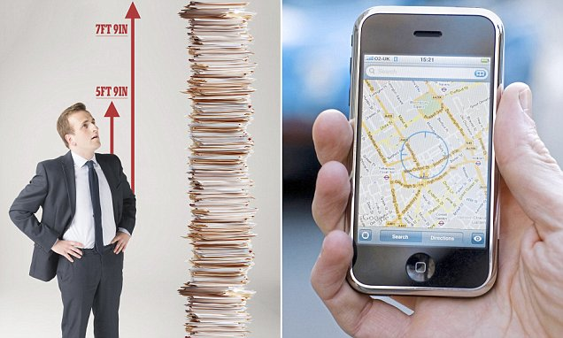 Google Has Enough Of Your Data To Make A 7ft 9in Pile Of Paper photo