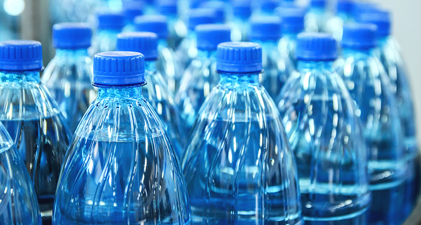 Plastic Taints Most Bottled Water, Study Finds photo