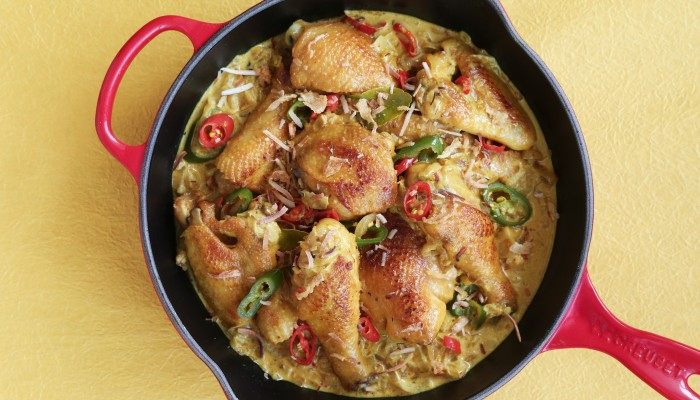 Fast And Easy Skillet Chicken With Lemongrass photo