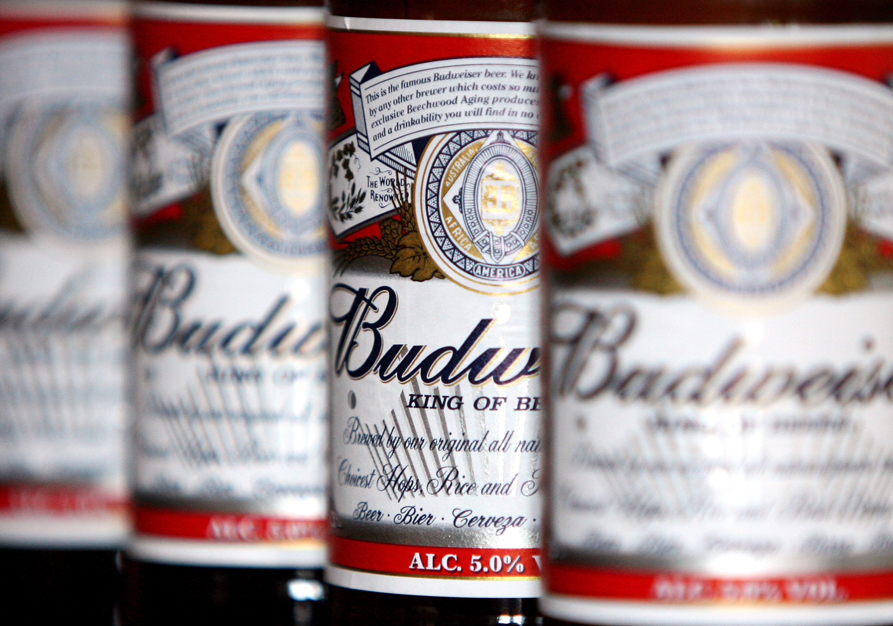 Jim Beam And Budweiser Are Making A Beer Together photo