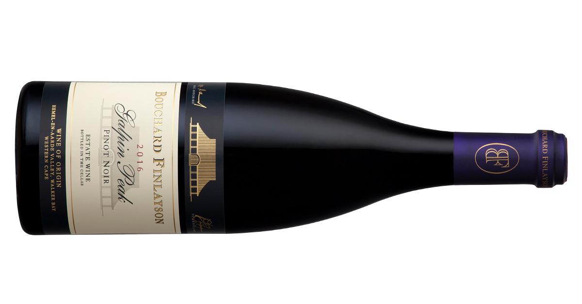 Bouchard Finlayson Releases 2016 Galpin Peak Pinot Noir photo