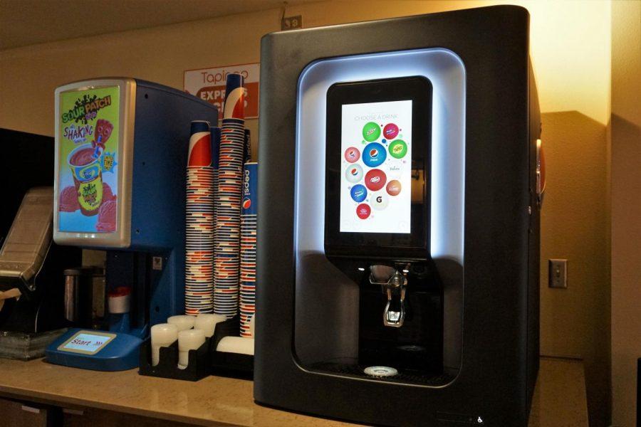 Nmsu Unveils New Pepsi Spire Machine photo