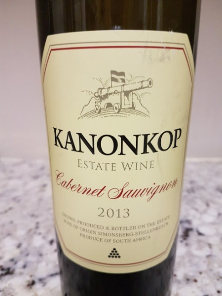 Kanonkop Cabernet Sauvignon 2013 photo