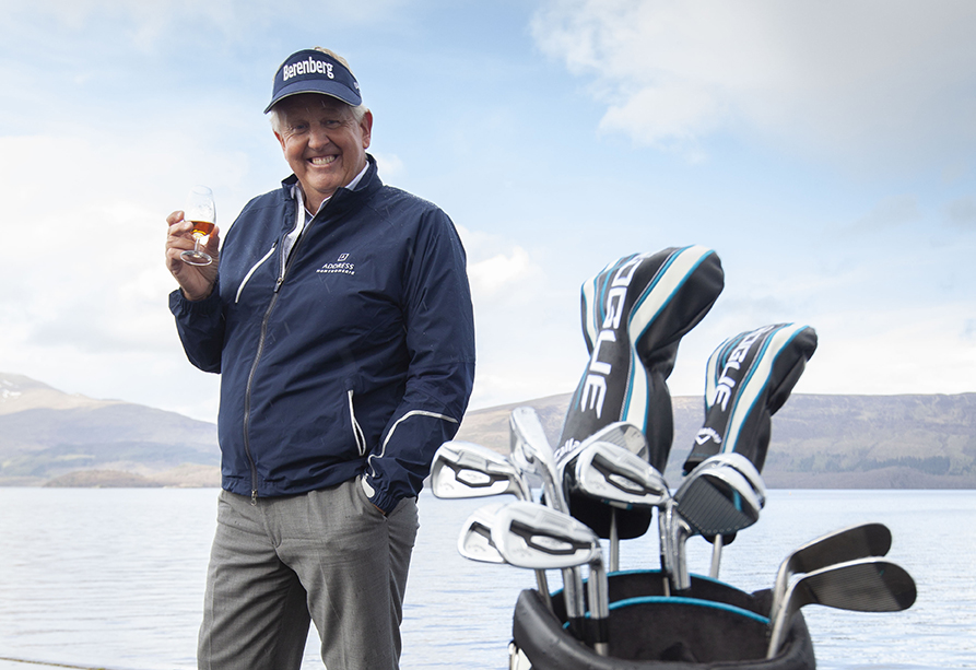 Monty's New Drive With His Whisky Partner photo