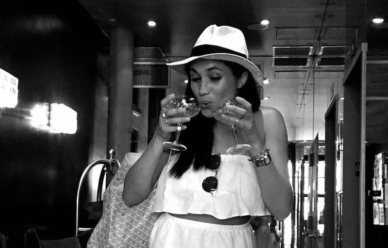How to drink like Meghan Markle photo