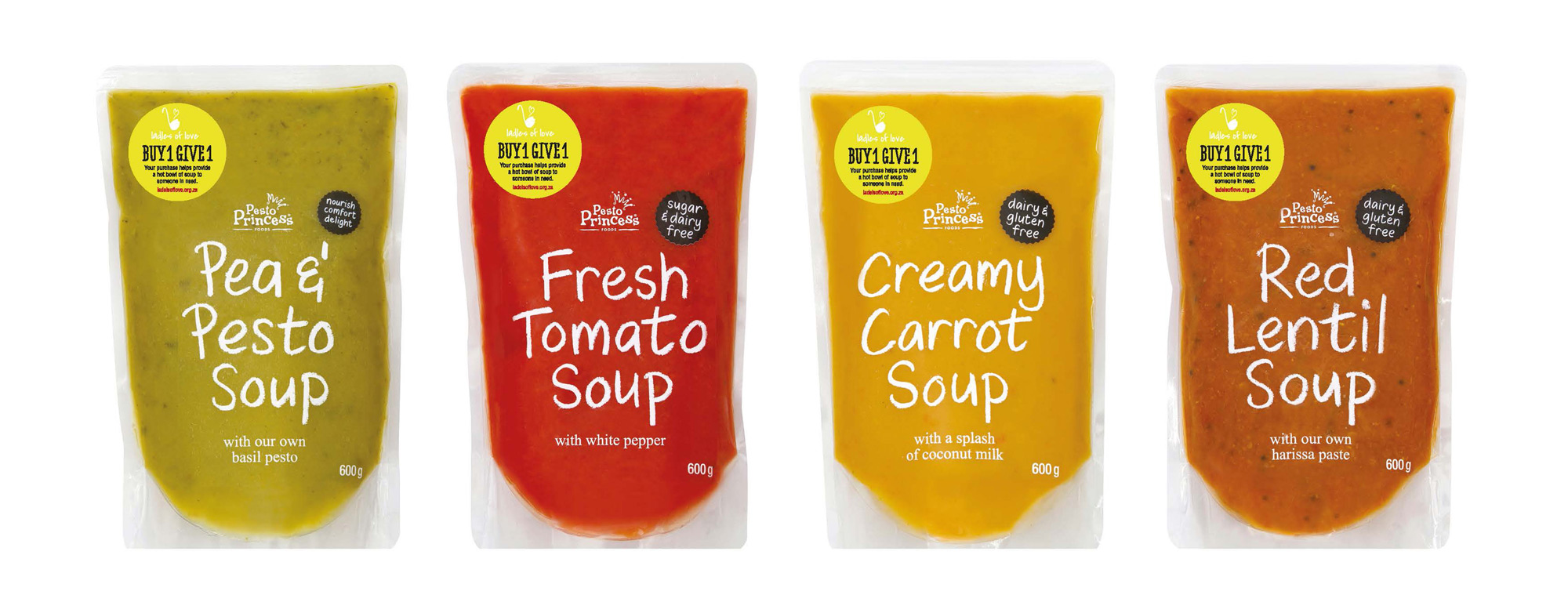 All Soups In The Pesto Princess Range Are Now 100% Vegan! photo